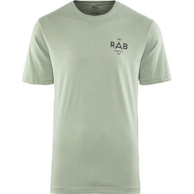 Rab Stance Geo SS Tee Men silverpine